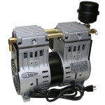 Tiech-Aire Rocking Piston Air Compressors; Oil-Less Piston Air Compressors Medium Pressure: 0 - 50 PSI