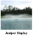 Juniper display Aerating Fountain