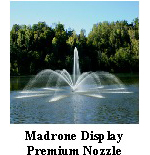 Madrone diplay - premium nozzle - Aerating Fountain