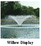 Willow display Aerating Fountain