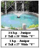 Kasco J series aerating fountains - Juniper